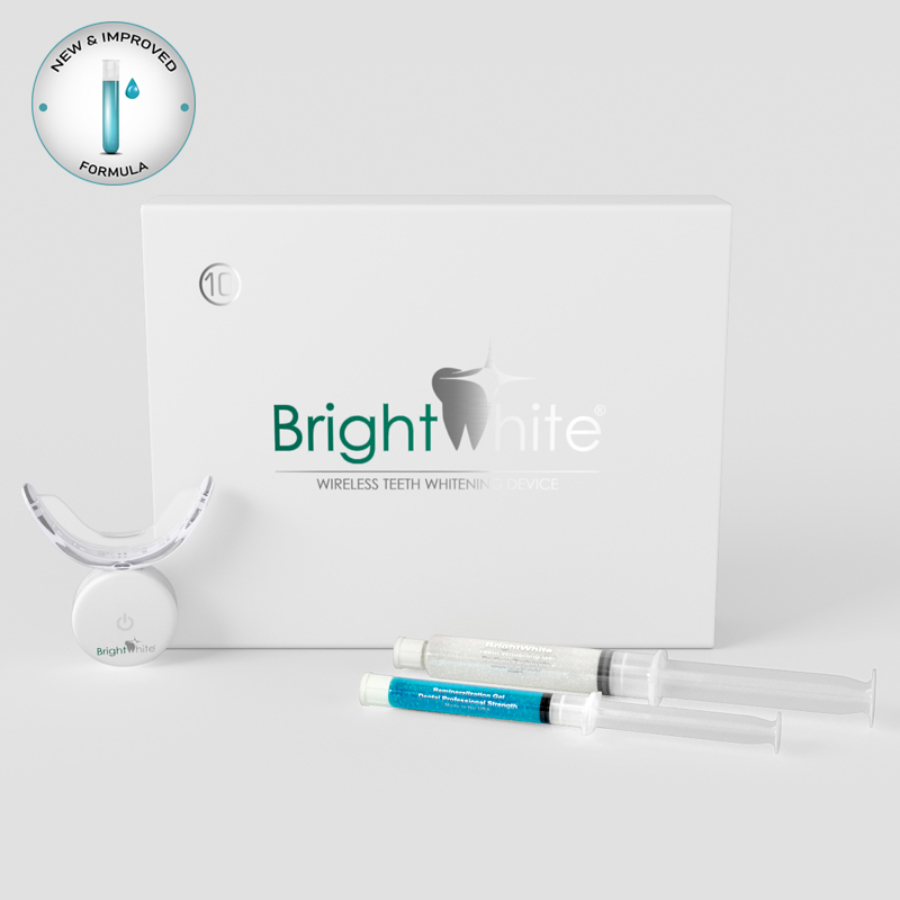BrightWhite 32 LED-es otthoni fogfehérítő szett 10 alkalomra