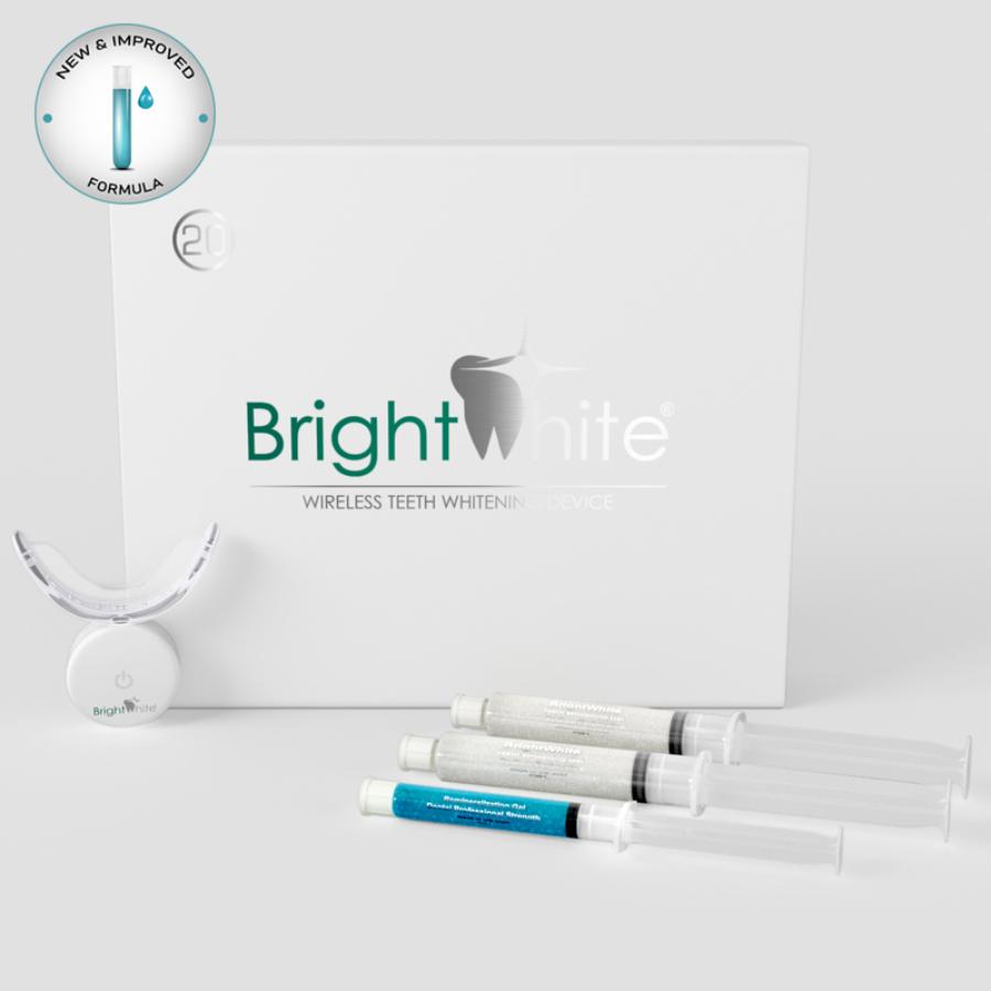 BrightWhite 32 LED de albire dentară pentru acasă - pentru 20 de utilizări